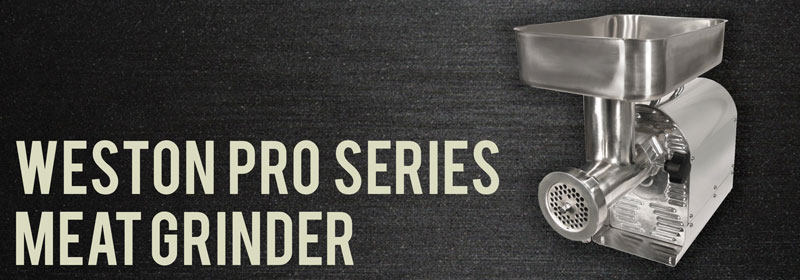 Weston Pro Series Meat Grinder Review